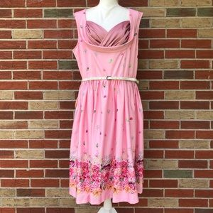 🎉 Host Pick! NWT Lindy Bop Ophelia Floral Dress